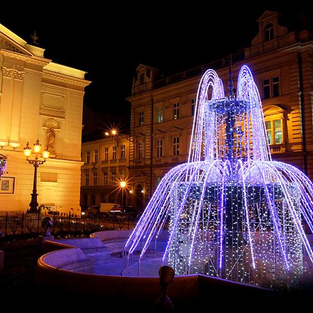 Ogromny Dekoracje świetlne, oświetlenie miast, oświetlenie świąteczne LED KR17